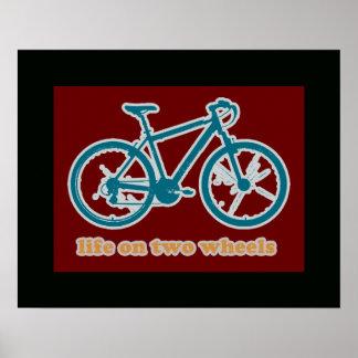 cool bike print decor