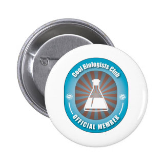 Cool Biologists Club 6 Cm Round Badge
