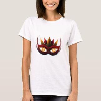 Cool Bitcoin eyes Carnival Mask Design T-Shirt