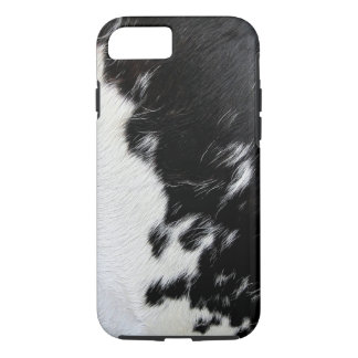 Cool Black and White Cow Hide iPhone 8/7 Case
