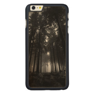 Cool Black and White Forest Fog Silence Gifts iPhone 6 Plus Case