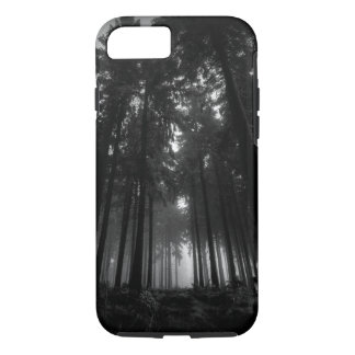 Cool Black and White Forest Fog Silence Gifts iPhone 7 Case
