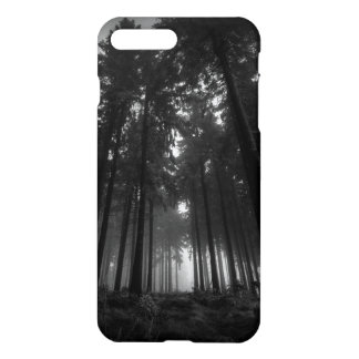 Cool Black and White Forest Fog Silence Gifts iPhone 7 Plus Case