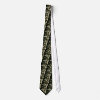 Cool Black and White Forest Sunshine Nature Tie