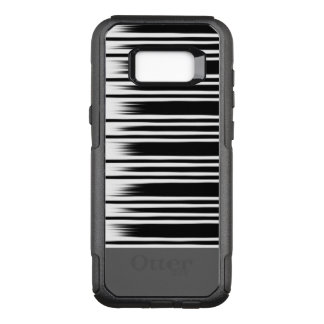 Cool Black and White Striped Pattern OtterBox Commuter Samsung Galaxy S8+ Case