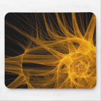 Cool black and yellow mouse pad