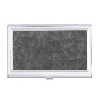 Cool Black Grunge Background Business Card Holder