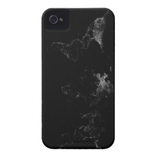 Cool Black&White World map iPhone 4 Cover