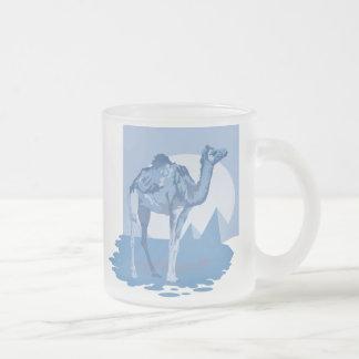 Cool Blue Camel Mugs