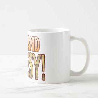 Cool Blue Cheesy Coffee Mug