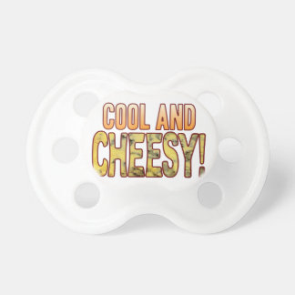 Cool Blue Cheesy Pacifier