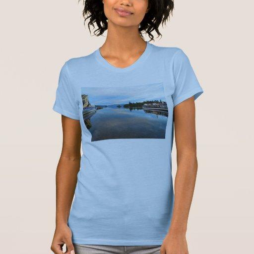 COOL BLUE DAWN - LAKE WINDEMERE - UK TEES
