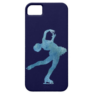 Cool Blue Figure Skater iPhone 5 Cover