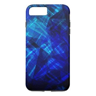 Cool Blue Ice Geometric Pattern iPhone 8 Plus/7 Plus Case