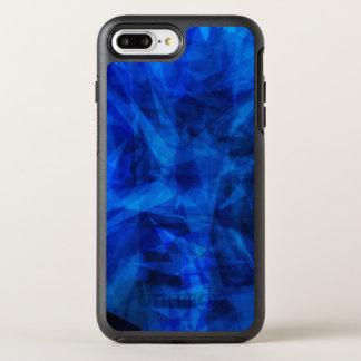Cool Blue Ice Geometric Shards OtterBox Symmetry iPhone 8 Plus/7 Plus Case