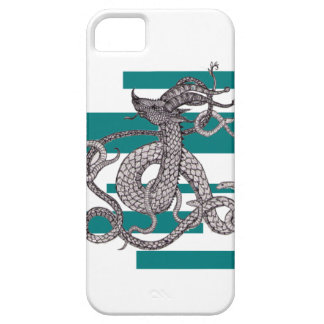 Cool Blue Serpent iPhone 5 Covers
