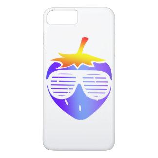 Cool Blue Strawberry iPhone 8 Plus/7 Plus Case