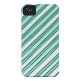Cool Blue Stripes iPhone 4 Covers