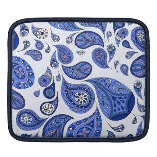 Cool Blue Teardrops iPad Case iPad Sleeve