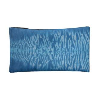 Cool Blue Tie Dye Wristlet