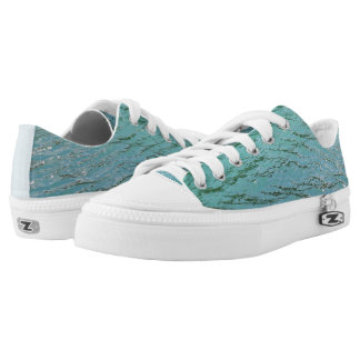 Cool blue water low tops