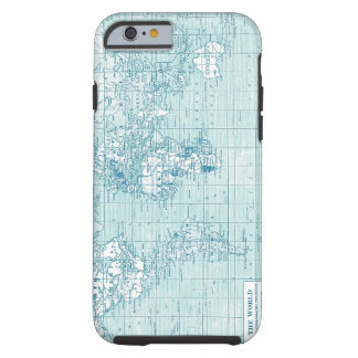Cool Blue World - collection Tough iPhone 6 Case