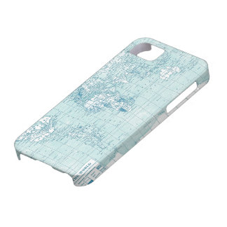 Cool Blue World - collection iPhone 5 Covers