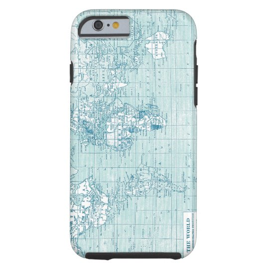 Cool Blue World - collection Tough iPhone 6