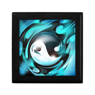 Cool Blue Yin Yang Gift Box