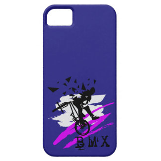 Cool BMX style artwork Barely There iPhone 5 Case