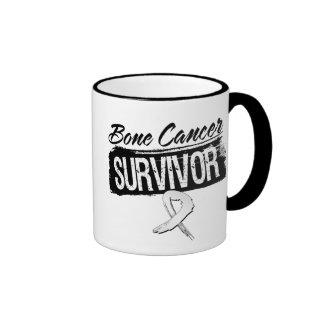 Cool Bone Cancer Survivor Mugs