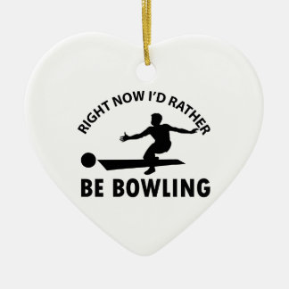 cool bowling designs christmas ornament
