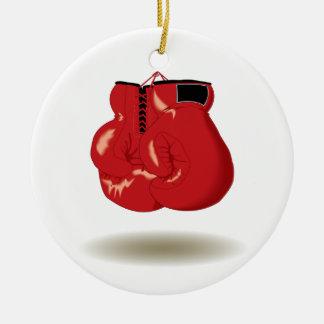 Cool Boxing Emblem Christmas Ornament