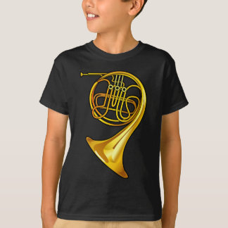 Cool Brass French Horn T-shirt