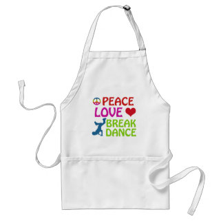 Cool Break dance designs Standard Apron