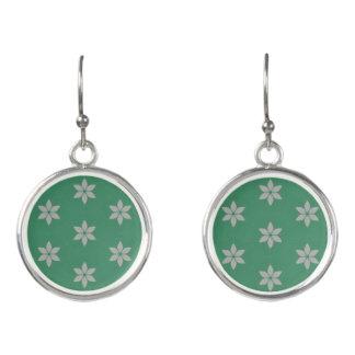 Cool breeze summer pattern earrings