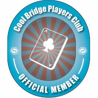 Cool Bridge Players Club Cut Out
