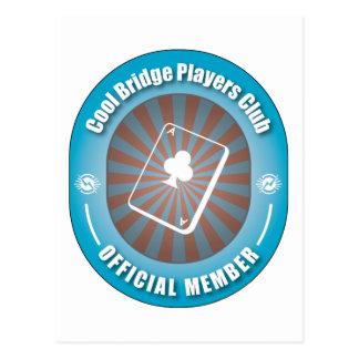 Cool Bridge Players Club Postcard
