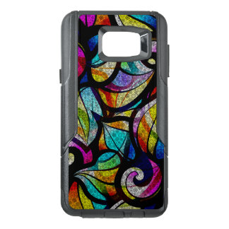 Cool Bright Color Abstract Swirls