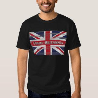 Cool Britannia British Flag Tshirt