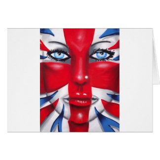 Cool Britannia Greeting Card
