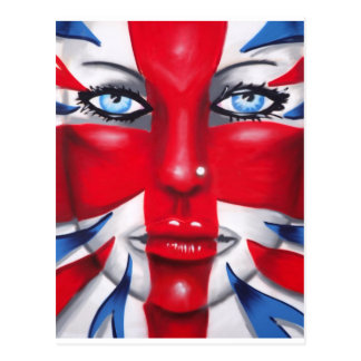 Cool Britannia Post Card