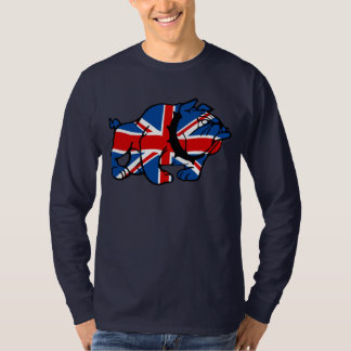 Cool British Bulldog T-Shirt