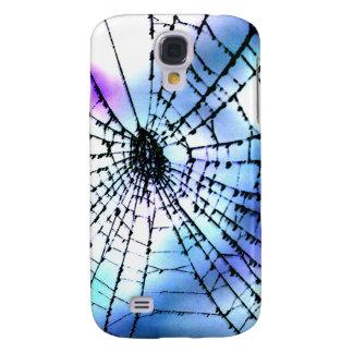 Cool Bro Grunge Goth Gothic Punk Spider's Web Dark Galaxy S4 Covers