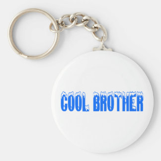 Cool Brother Basic Round Button Key Ring