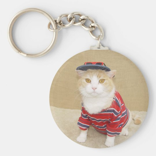 Cool Bubba Basic Round Button Key Ring