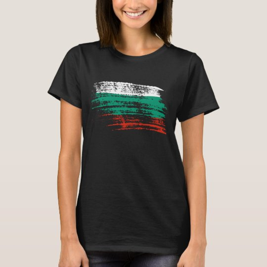 Cool Bulgarian flag design T-Shirt