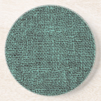 Cool Burlap Texture Coasters