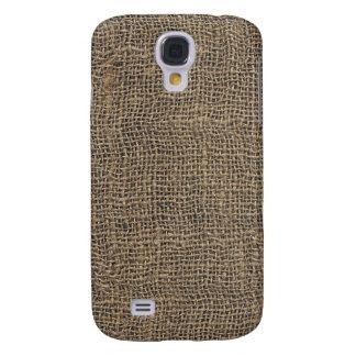 Cool Burlap Texture Galaxy S4 Case
