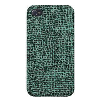 Cool Burlap Texture iPhone 4/4S Case